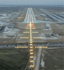 Airport radar/Air traffic systems/ airfield ground lighting systems, /ATC Control Towers