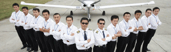 Pilot training/Airlines pilot training/private pilot