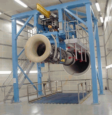 Aero engine test facilities and ground support equipment