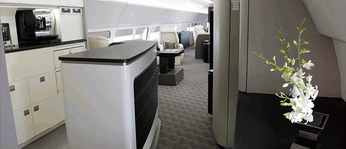 Cabin Innovations/Cabin design/Cabin engineering/Turn-key galleys/Cabin cabinetry for VIP aircraft.