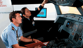 Flight training/Aviation training