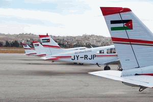 Jordanian flight training/Maintenance training