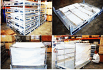 Baggage Trailers/Cargo Handling Systems/Cargo Trailers/Container Dollies/Pallet Dollies