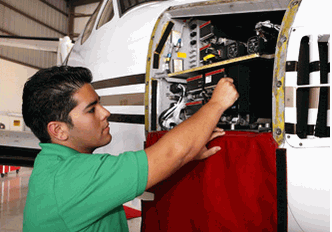 Flight training/Aircraft maintenance